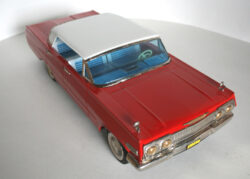 Nomura Japan Chevrolet Impala 1963 friction original tin toy car