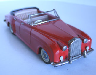 Rolls-Royce Silver Cloud Convertible friction