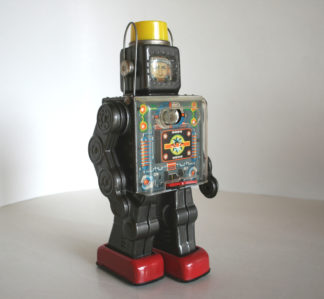 Fightin Space Man Robot 60's Horikawa Japan