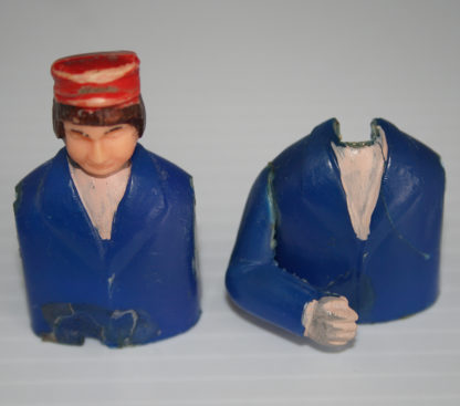 Monkee Mobile Blue with cap red Guitarist Doll Aoshin ASC