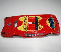 Body Red Batmobile 10 inch Taiwan
