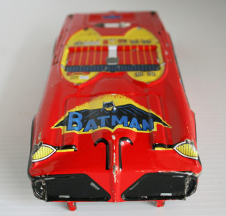 Red Batmobile Body 10 inches Taiwan