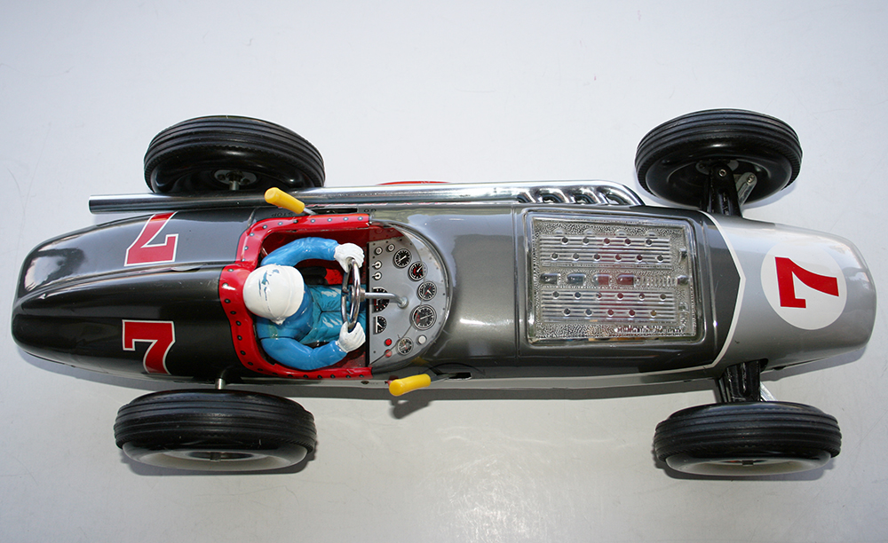 S Battery Operated Space Control Car