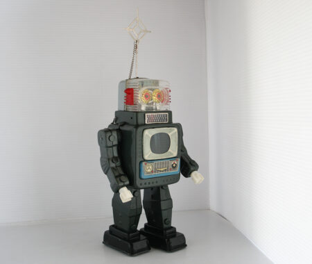 Television Spaceman Robot Alps