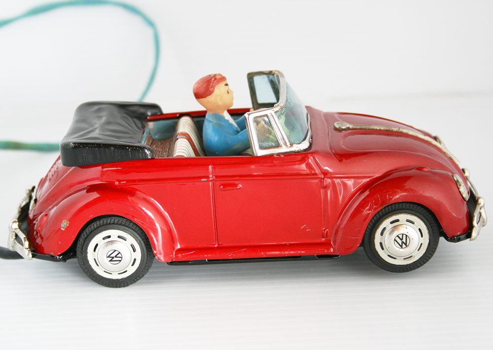 S Battery Operated Convertable Space Control Car