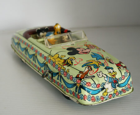 PlastiMarx, Marx México 50's Walt Disney Productions Convertible Car
